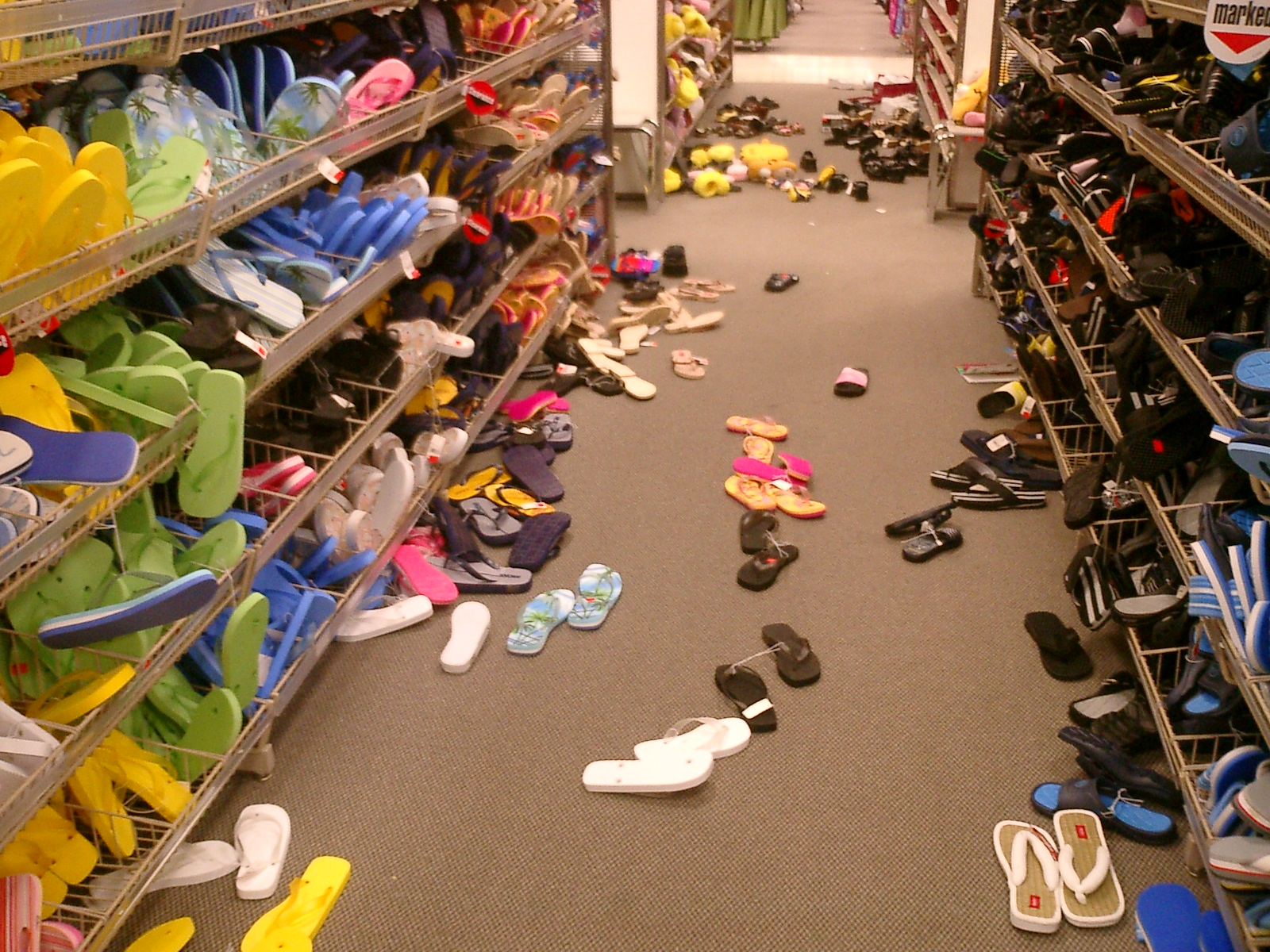 Messy_shoe_aisle_at_Nashville_Target_store
